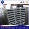 Fireproof PU sandwich panel price , Popular thermal insulation roof materials cheap price pu sandwich panel