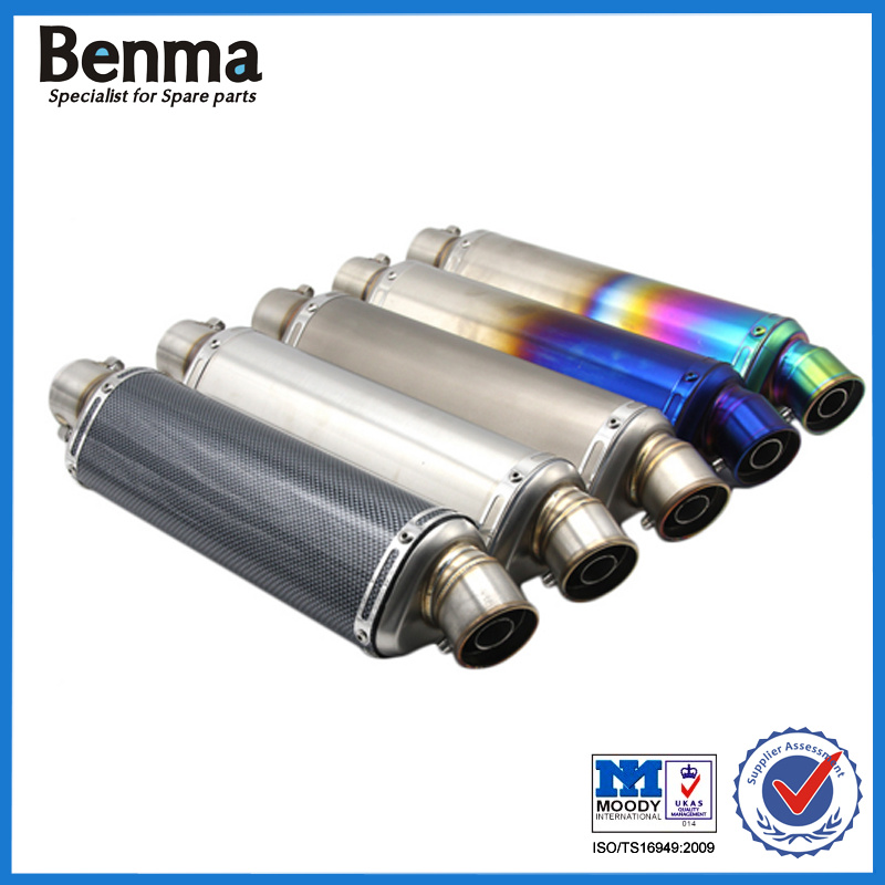 51mm Modified Motorcycle Exhaust Pipe Muffler CB400
