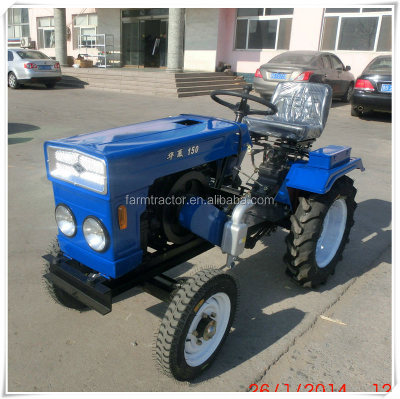 Hot sale 10hp 12hp and 15hp farm zubr mini tractor with avaliable implement