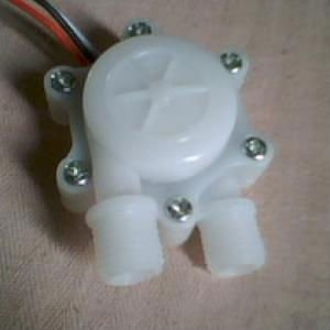 magnetic water flow sensor