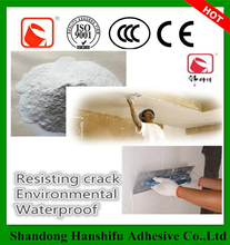 Flexible water- repellent mortar against cracking/putty power/powder coating putty