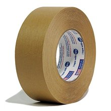 High quality cheap free sample crepe paper jumbo roll brown masking tape
