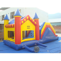 Advertising promotion inflatable bouncer slides combo for sale