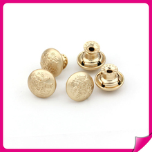 new design plating snap metal buttons for jeans or garments