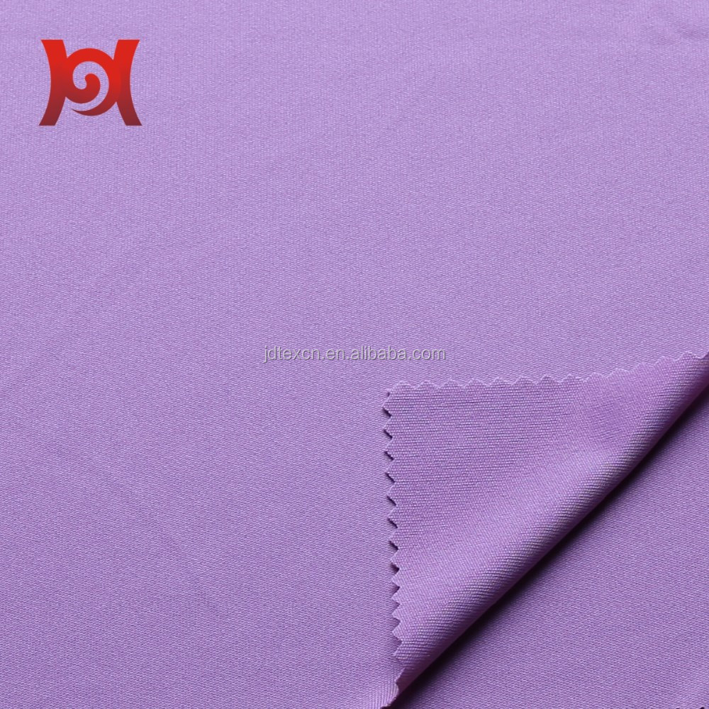 soft feeling 100% polyester warp knitting dazzle fabric for sportswear