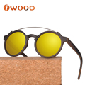 In stock designer sunnies made of wood sunglasses woman
