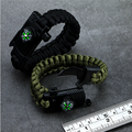 Umbrella Bracelet Knife Outdoor Emergency Hand Strap Flint Multifunctional Hand Strap Camping Survival Adventure Bracelet