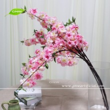 GNW BLB-CH1605007 China flower suppliers Artificial silk flower Fake Cherry Blossom