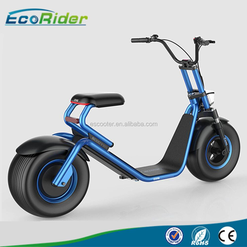2017 Ecorider the most fashionable citycoco 2 wheel electric scooter