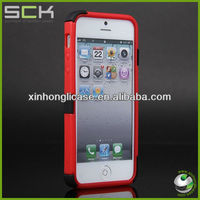 New Products for 2013, Hybrid Silicon Phone Case, Multiple Phone Cover for iPhone5 with Best Price