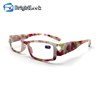 Fashion design function night vision ce led reading glasses
