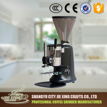 Coffee Grinder with coffee tamper