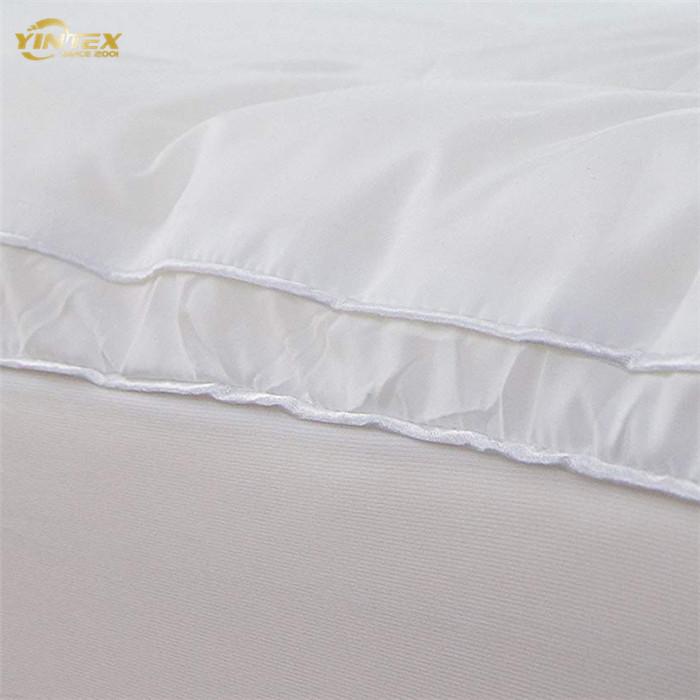 down/feather white duck mattress topper - Jozy Mattress | Jozy.net