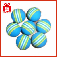 Multifunctional eva balls for fun/exercises rubber dart toys for kids flat promotional pens