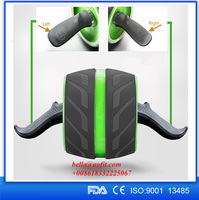 Abdominal Smooth Original Ab Power Exercise Ab Wheel Roller with Foam Handles, Great Grip, Double Wheels