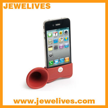 Colorful Silicone Horn Stand for iPhone Speaker