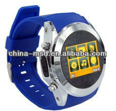 2013 best selling GSM quad band watch phone MQ266 with CE, FCC, RoHS