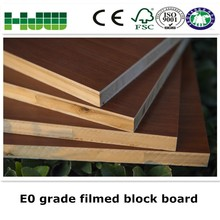 Fancy veneer laminated wood block board