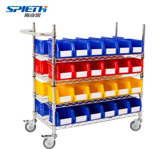 Large plastic moving stackable storage bins photo