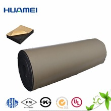 OEM adhesive backed Class 1 foam rubber sheet
