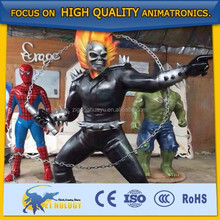 Amazing Life Size Super Hero Figures Model for Exhibition