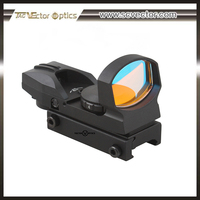 Vector Optics Imp 1x23x34 Tactical Style Multi Four Reticle Reflex Red Dot Scope Sight