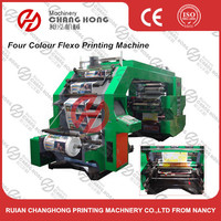 High Speed multi colour printing machine for plastic film