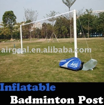 Badminton shoes(Inflatable Portable Badminton Net Post)