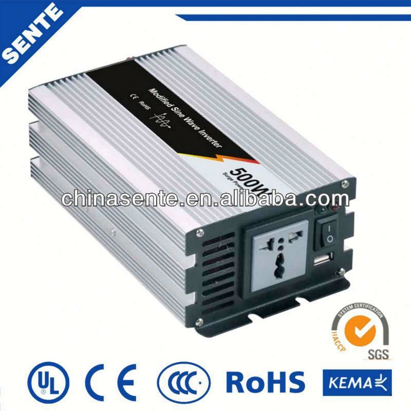 Top rated 500w dc to ac frequency inverter 11kw 12vdc to 220vac 50Hz/60Hz for home use
