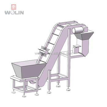 linear weigher belt weigher for bean sprout