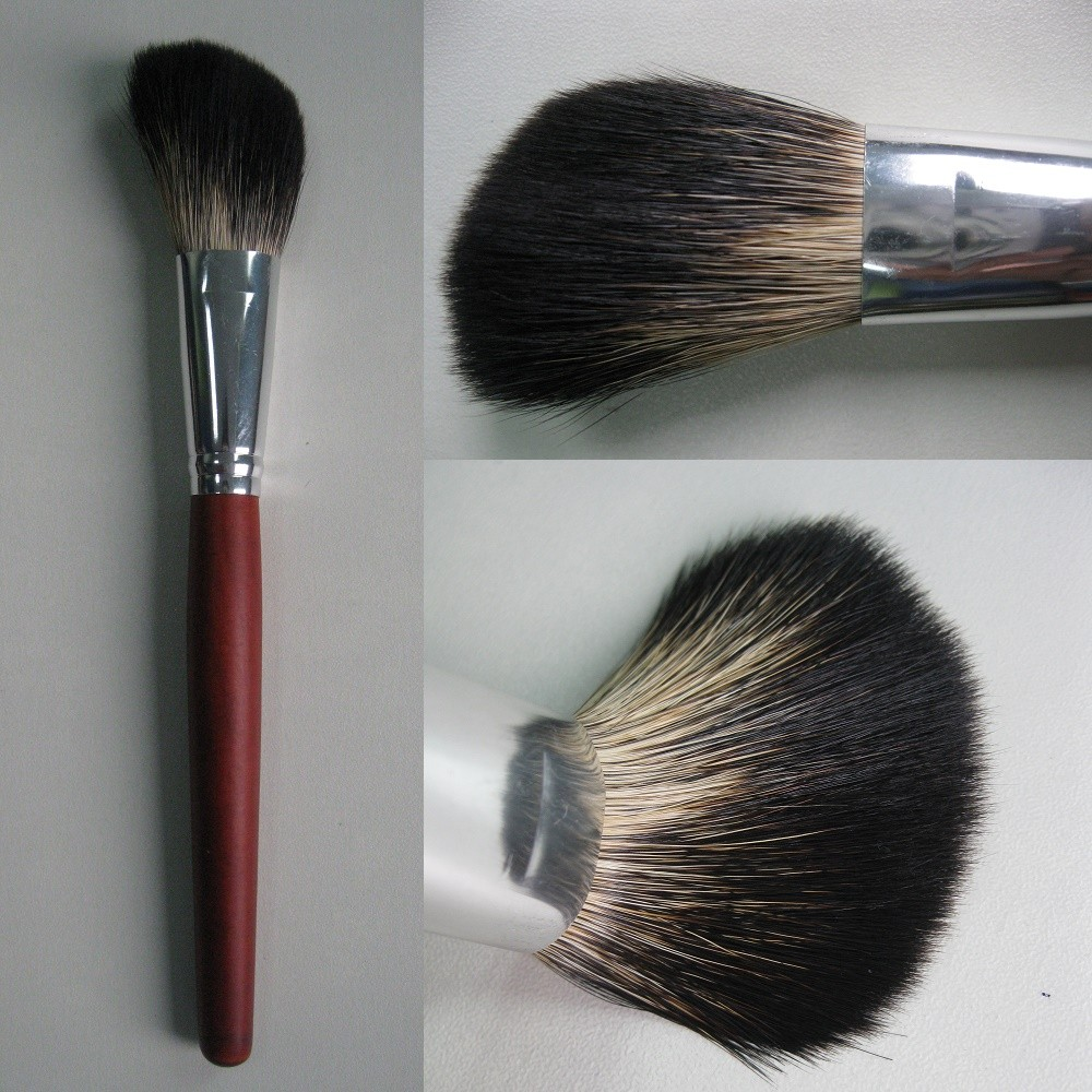 Powder Brush 1pcs Red Wood Handle Professional Makeup Brush Animal Hair Cosmetic Brushes <strong>03</strong>