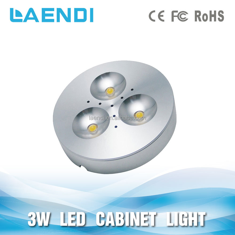 3w round flat led mini ceiling light for crafts display