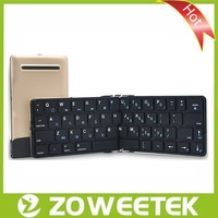 Wireless Mini Foldable Bluetooth Keyboard for Tablet, SmartPhone, PC