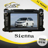 FOR TOYOTA SIENNA car gps navigation system built in bluetooth