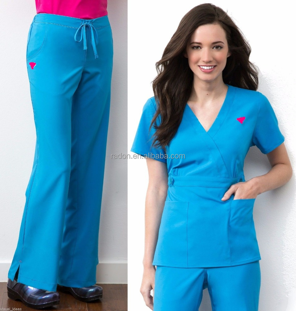 women fashionable nurse uniform designs europe medical scrubs suit