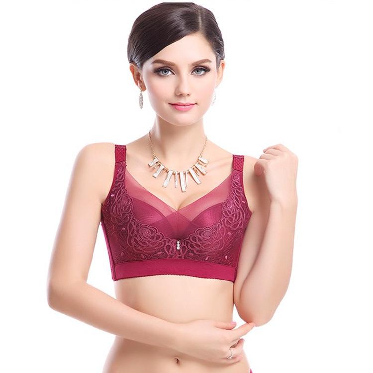 4e0295c090d7a Get Quotations · Plus size Sexy women push up bra for women plus size women  lace push up bra