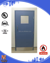Cold-rolled Steel door with glass insert