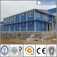 Green Fireproof Waterproof corrugated metal house