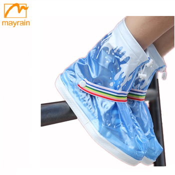 Hot Sale 2015 Outdoor PVC Rain Boots Cover Waterproof Shoe Covers