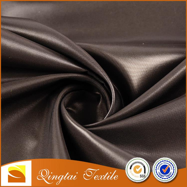 Customized new style crinkle coated car cover polyester taffeta fabric