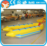 Commercia double banana boat for seaside use