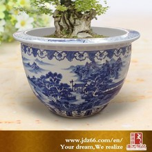 Large outdoor tree planter big garden pot from China