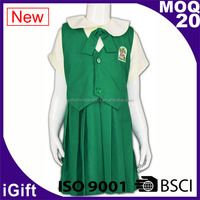 Kid school girl student uniform costume