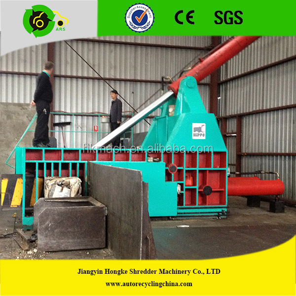 automatic metal scrap baler packing machine