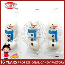 Snowman Bubble Gum Ball White Snowman Candy