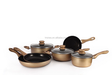 Aluminized steel non-stick camping cookware