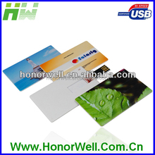 MOQ 8GB Credit Card USB Memory Usd 2 Without Printing Business Card Custom Artwork