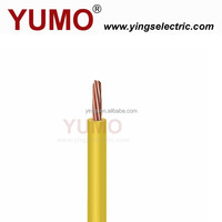 YUMO 1.5mm2 2.5mm2 6mm2 House Wiring Electrical Cable Wire With ROHS And CE Certificates