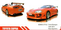 Bomex Style FRP Body Kit Bumper Skirts Fit For Supra