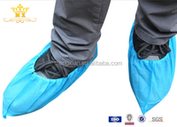 Nonwoven disposable shoe cover foot cover